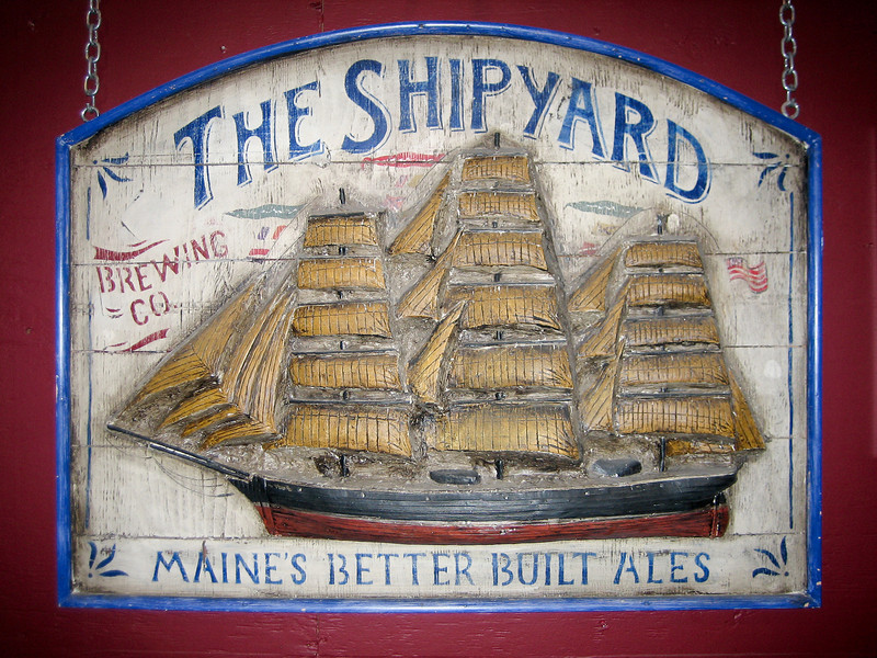 Shipyard Brewery<br /> Visited the Shipyard Brewery in Portland. Free samples!