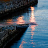 "<span id=""title"">Boat Ramp</span> In Bar Harbor. I liked the reflections from the lights."