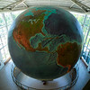 "<span id=""title"">Eartha</span> The world's largest globe at the DeLorme headquarters in Yarmouth. Buy 4 atlases, get 1 free! I had to stitch together 2 shots for this - it's enormous. (Hopefully you didn't notice the artifacts on the right side of the globe, on the Eastern side of South America)"