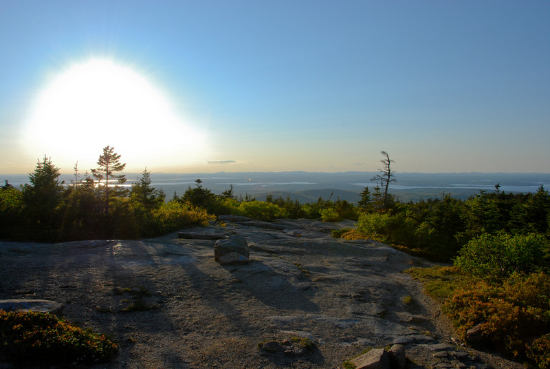 "<span id=""title"">Cadillac Mountain</span> Just before sunset. I like the shadows."