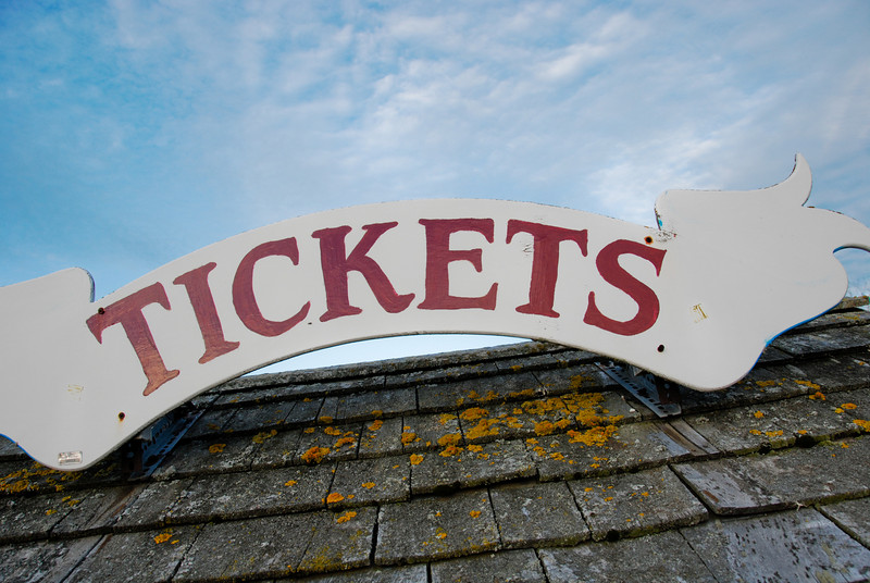 """<span id=""""title"""">Ticket Booth</span> On the Bar Harbor pier. This is where we picked up our tickets for the Frenchman's Bay cruise the next day."""