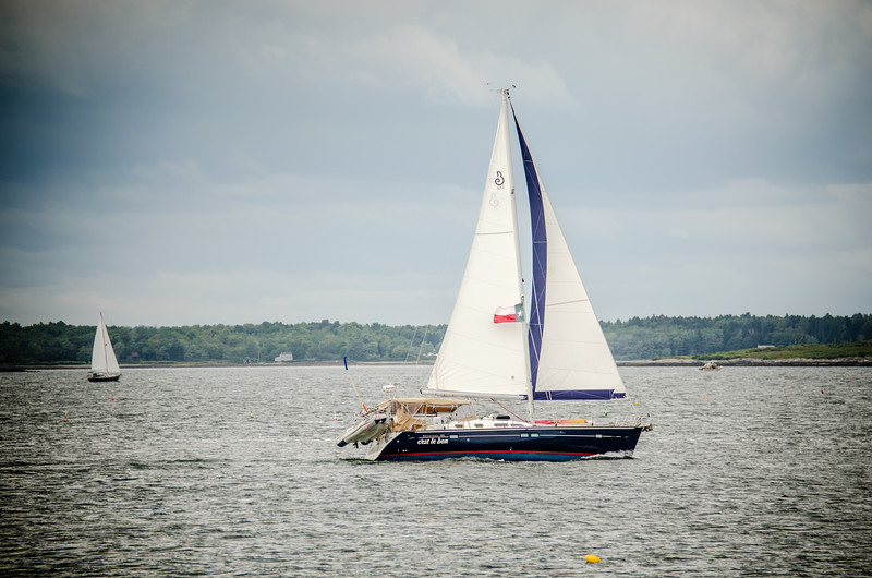 Sailing Casco Bay