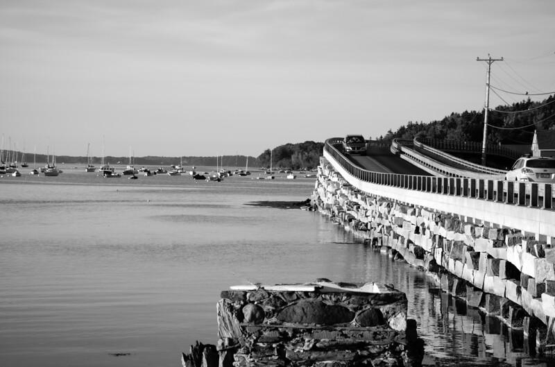 The Famous Cribstone Bridge