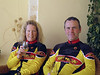 Bike in Motion pair Richard and Deanna who drove the van for our CTC tour to Switzerland.