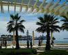 Malaga's modern Promenade