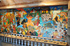 """Misyong Filipino, a mural by Fred Juson, depicts people and events that shaped Catholic faith in the Philippines from the coming of the Spaniards to the emergence of a new and vibrant missionary church."""