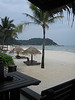 Beach bar at the Hyatt Kuantan