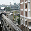 The Kuala Lumpur monorail. Great way to see the city...or a small part of it anyway.