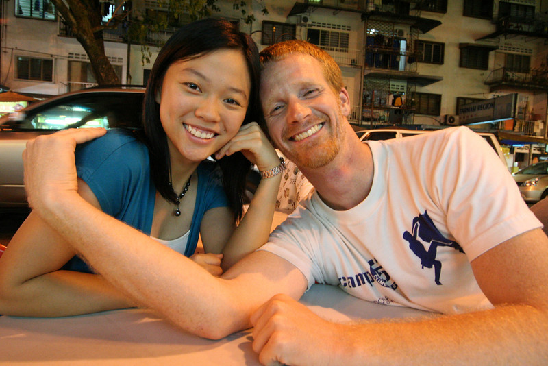 Everette and Hui Ying (not spelled correctly).