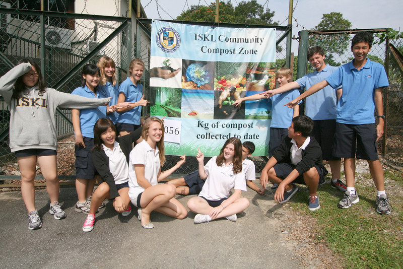 Love the recycling and composting programs at ISKL!