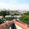 The view from the roof of the school.