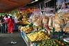 Local market near Cherating