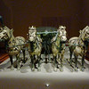 Horses and Cart - Terra Cotta Warriers Exhibit, Asian Civilizations Museum, Singapore