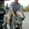 Taking the bull by the horns, Kekloksi Temple