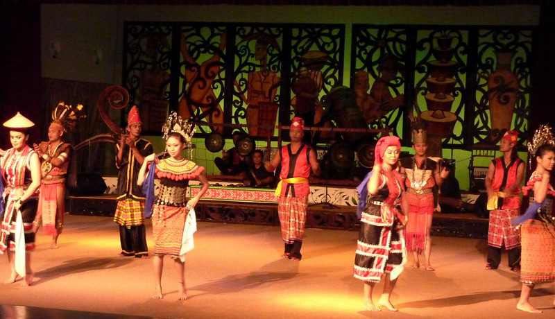 Music and Dance Performance, Sarawak Cultural Village