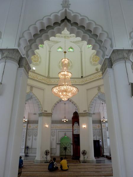 Kapitan Keling Mosque interior