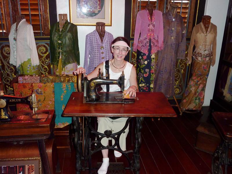 Pinang Peranakan Mansion - sweat shop