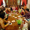 Pinang Peranakan Mansion - spontaneous dinner guests