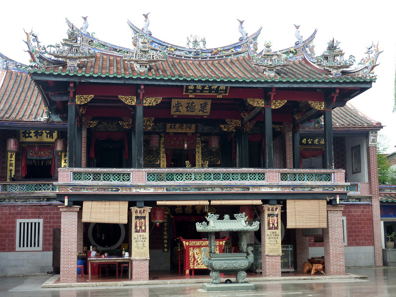 Chinese temple near Khoo Kongsi, Georgetown