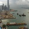 Hong Kong Harbor from the Grand Hyatt, 27th floor, courtesy of United Airlines...