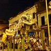 Lion Dance Performance on High Poles - Tapestry of Cultures street celebration