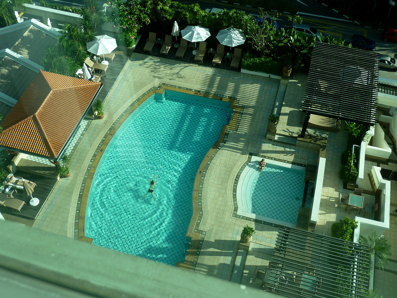 Pool, Intercontinental Hotel
