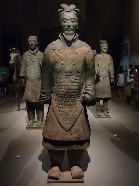 Terra Cotta Warriers Exhibit, Asian Civilizations Museum, Singapore