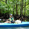 Our guide Mandy (Dev's Adventure Tours) leading our kayaking tour of the mangroves