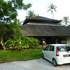 Our Perodua (Malaysian auto manufacturer) rental car at Bon Ton reception