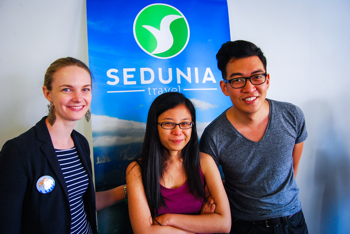 One of the biggest supporters of AWE '13 - Sedunia Travel!