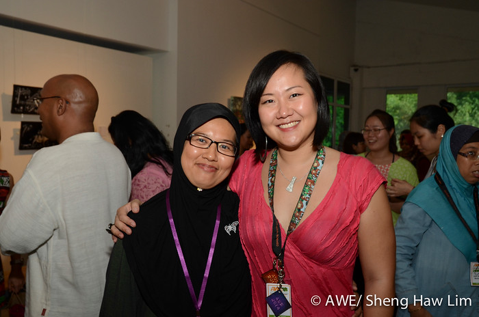 With an AWEsome writer, supermom, Nisah Haron