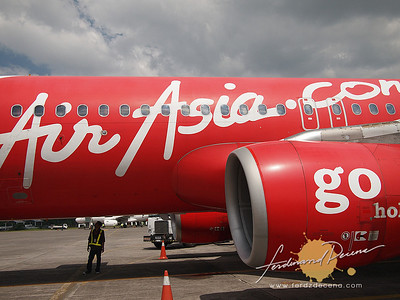 Air Asia at DMIA, Clark