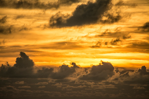 Sunset over Mabul
