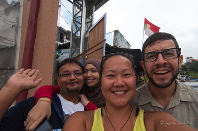 Our new Malaysian friends