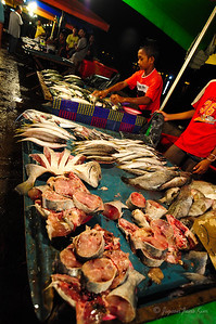 Kota Kinabalu Night Market - Fish