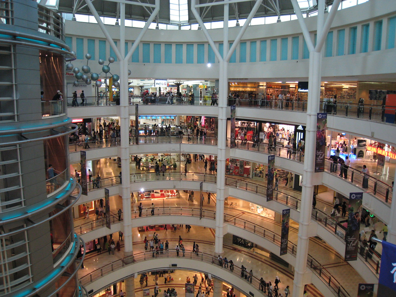 The Huge Shopping Mall within the Petronas Twin Towers