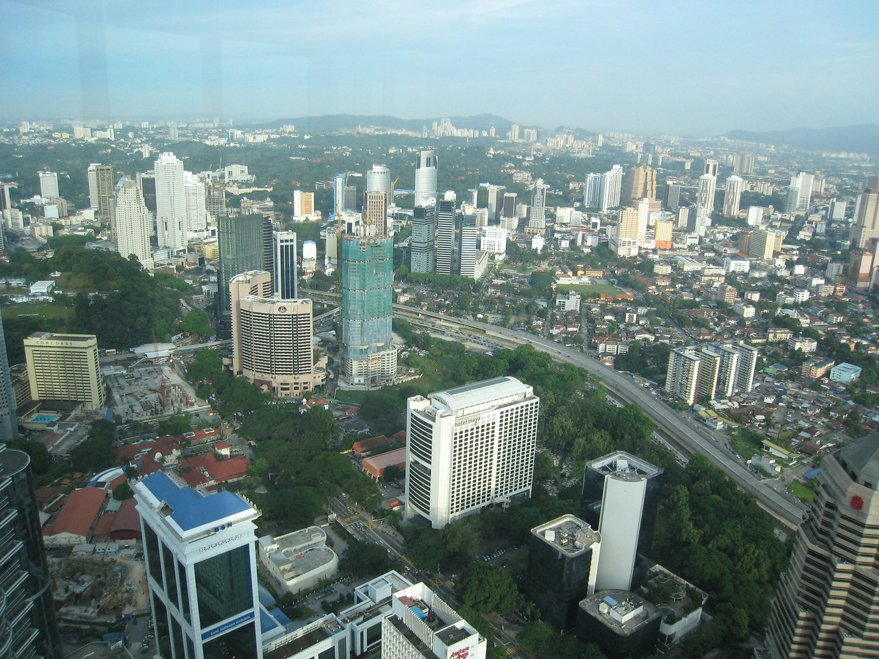 The Accenture office in KL is located on teh 65th and 66th floors of the Petronas Twin Towers.