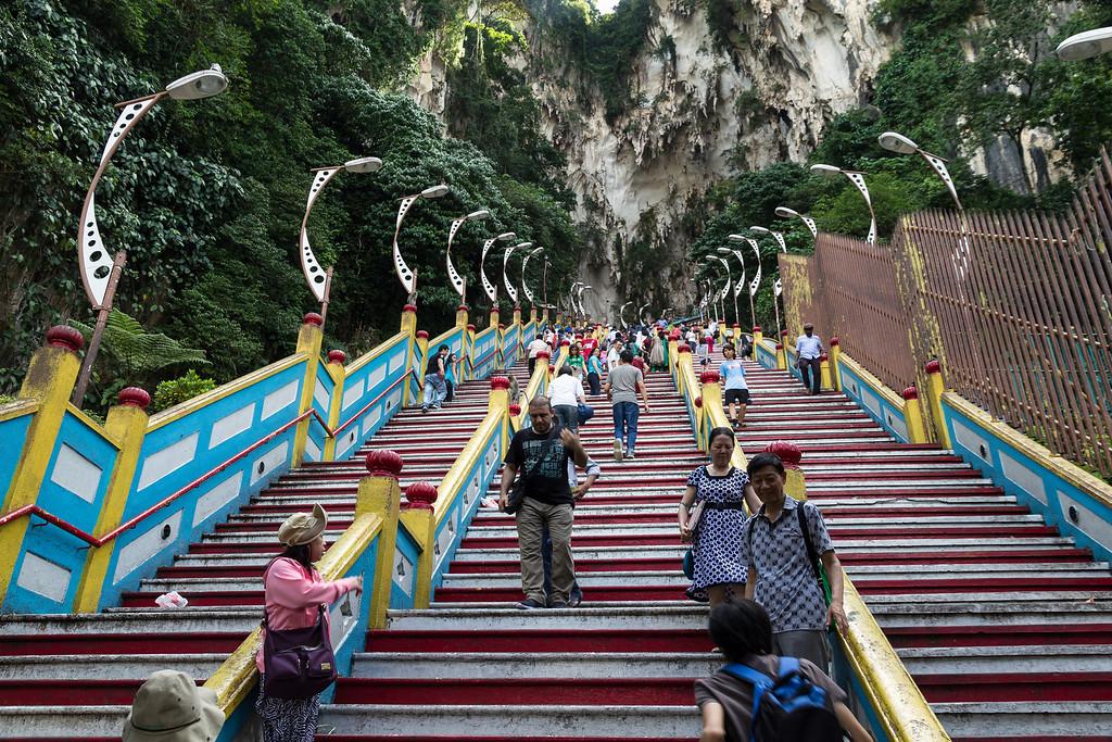 Batu Caves Steps