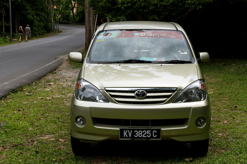 Our little Toyota Avanza hire car (from T-shoppe hire)