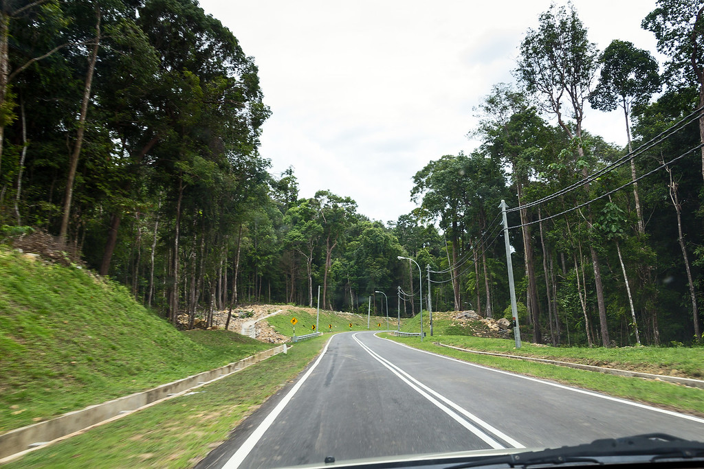 Driving on Langkawi roads