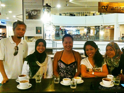 Meeting readers in KL