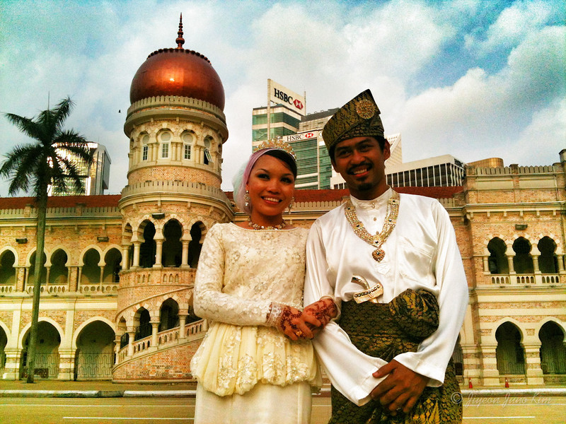 Newlyweds in KL