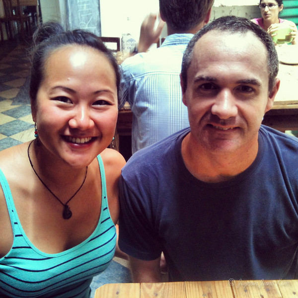 Meeting James in Penang