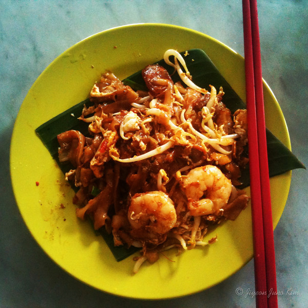 char kway teow in Penang