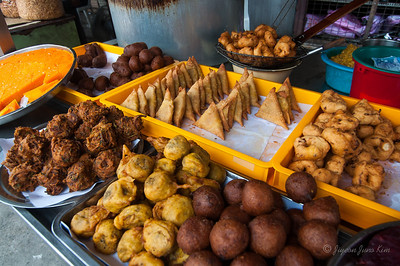 Indian snack stand