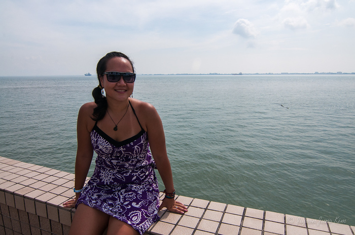 At the water front at Penang