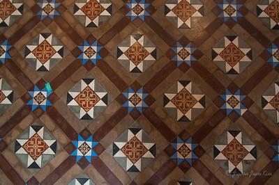 Tiles at Peranakan Museum