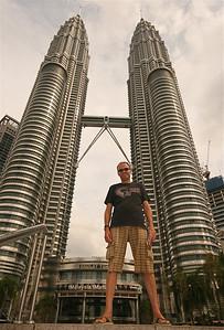 Petronas Twin Towers, Golden Triangle, Kuala Lumpur, Maleisië.