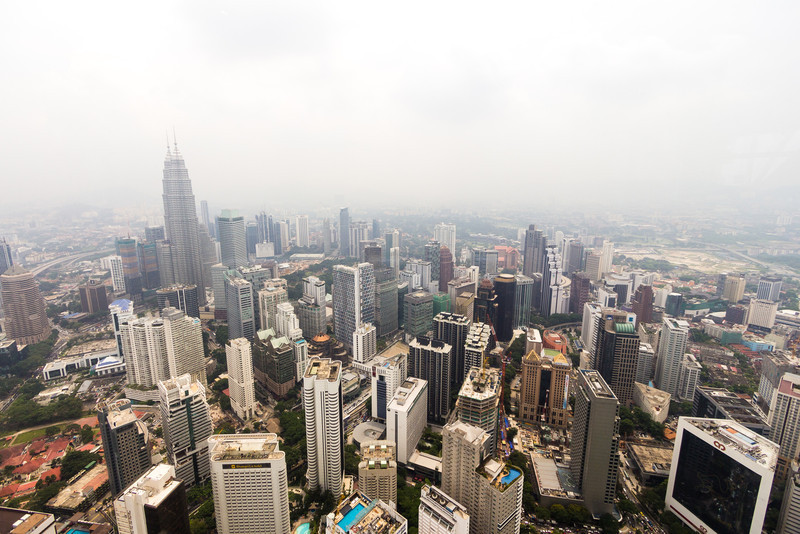 Kuala Lumpur from up above