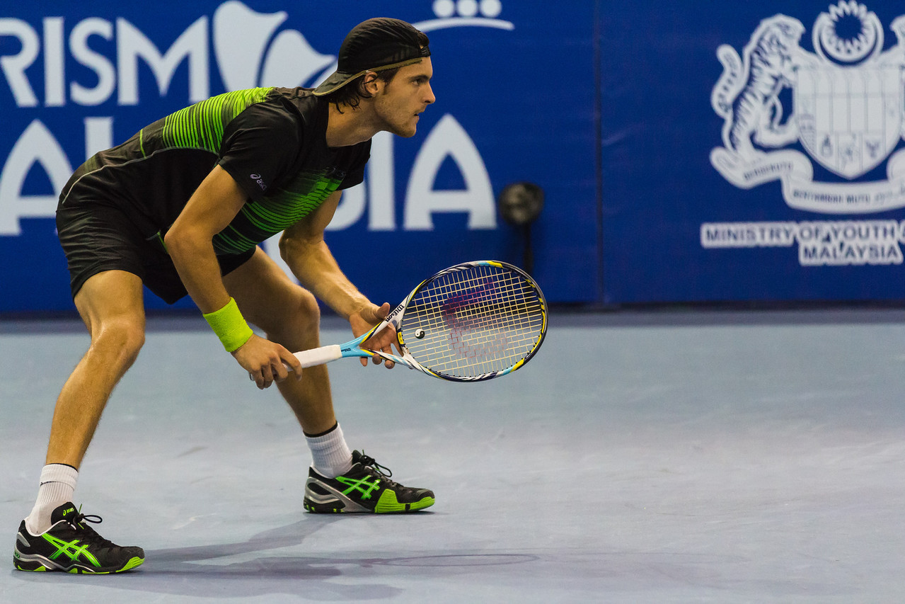 Rising Tennis Star João Sousa